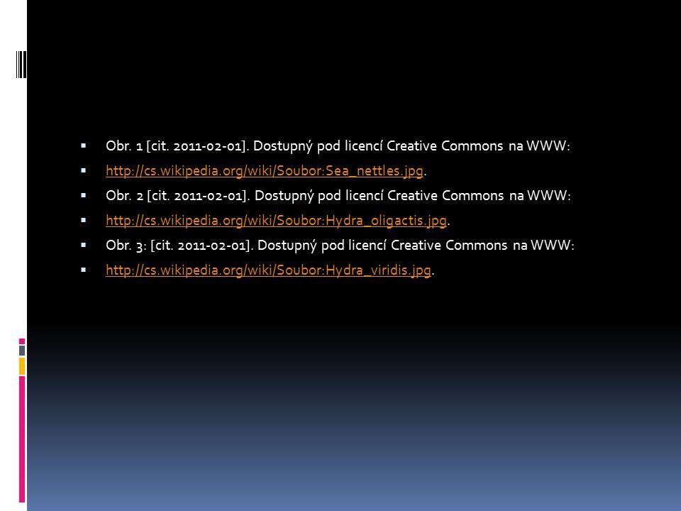 Obr. 1 [cit. 2011-02-01]. Dostupný pod licencí Creative Commons na WWW: